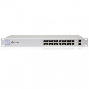 Ubiquiti UniFi Switch 24 Port PoE+ Gigabit 250W, US-24-250W