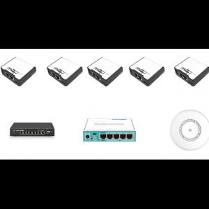 Πακέτο λύσης για κάλυψη WiFi με εγκατάσταση Access Points απευθείας στα δωμάτια